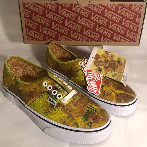 d48c9234a84 VANS Vincent Van Gogh Museum Sunflower Authentic